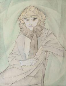 Leo Gestel   Jonge vrouw