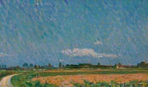 Leo Gestel   Landscape (Montfoort)