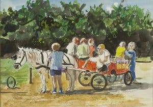 Harm Kamerlingh Onnes | A ride with a horse-drawn cart
