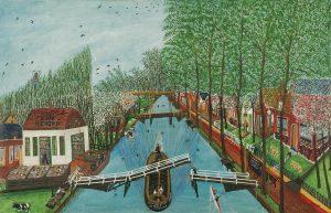 Cor Kaay | Dorpsgezicht Nieuwe Niedorp