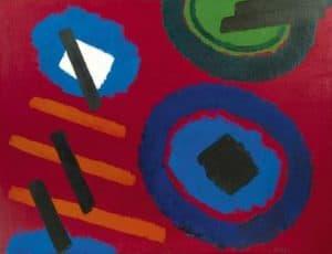 Willem Hussem | Compositie rood
