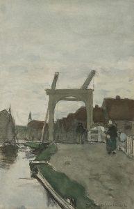 Hendrik Johannes Weissenbruch | De Teuntjesbrug bij Nieuwkoop