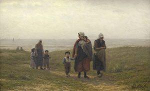 Philip Lodewijk Jacob Frederik Sadée | Na het vertrek van de vissers bij Scheveningen