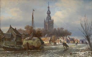 Elias Pieter van Bommel | Schaatsplezier bij Overschie