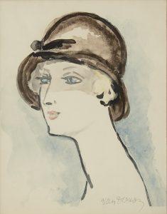 Kees van Dongen | Woman with black hat