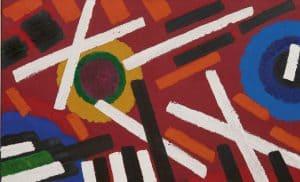 Willem Hussem | Composition red