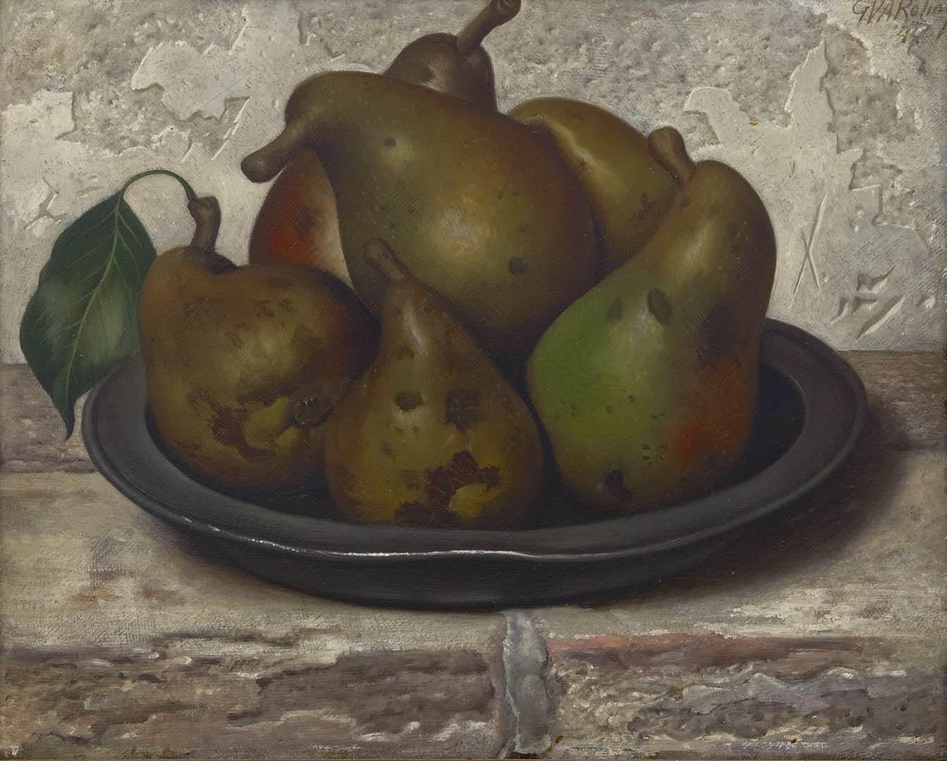 Gerard Roling - Stilleven met peren