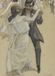 Leo Gestel   Dansend paar