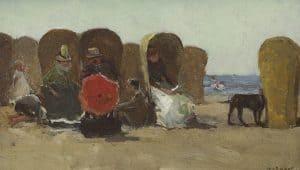 Willem de Zwart | Strandgezicht