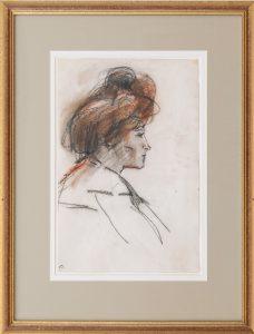 Isaac Israëls   Woman in profile