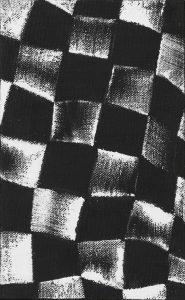 JCJ Vanderheyden | Checkerboard zwart wit