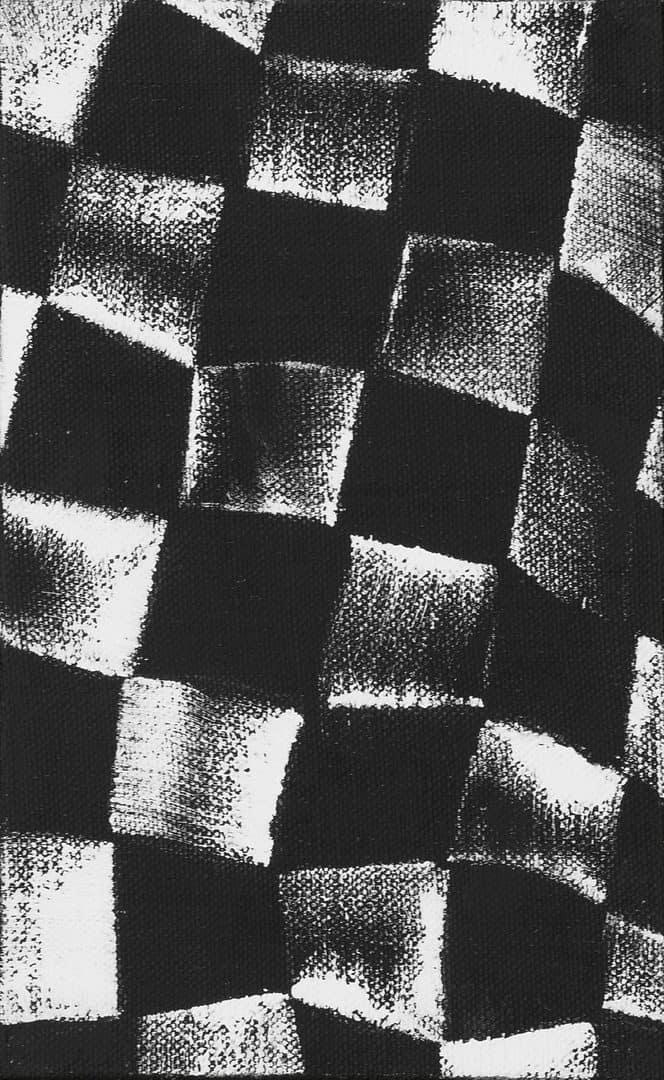 JCJ Vanderheyden Checkerboard zwart wit