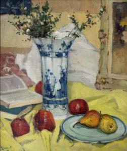 Arie Zwart | Still life with fruit