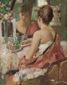 Fernand Toussaint | Opmaken voor de spiegel