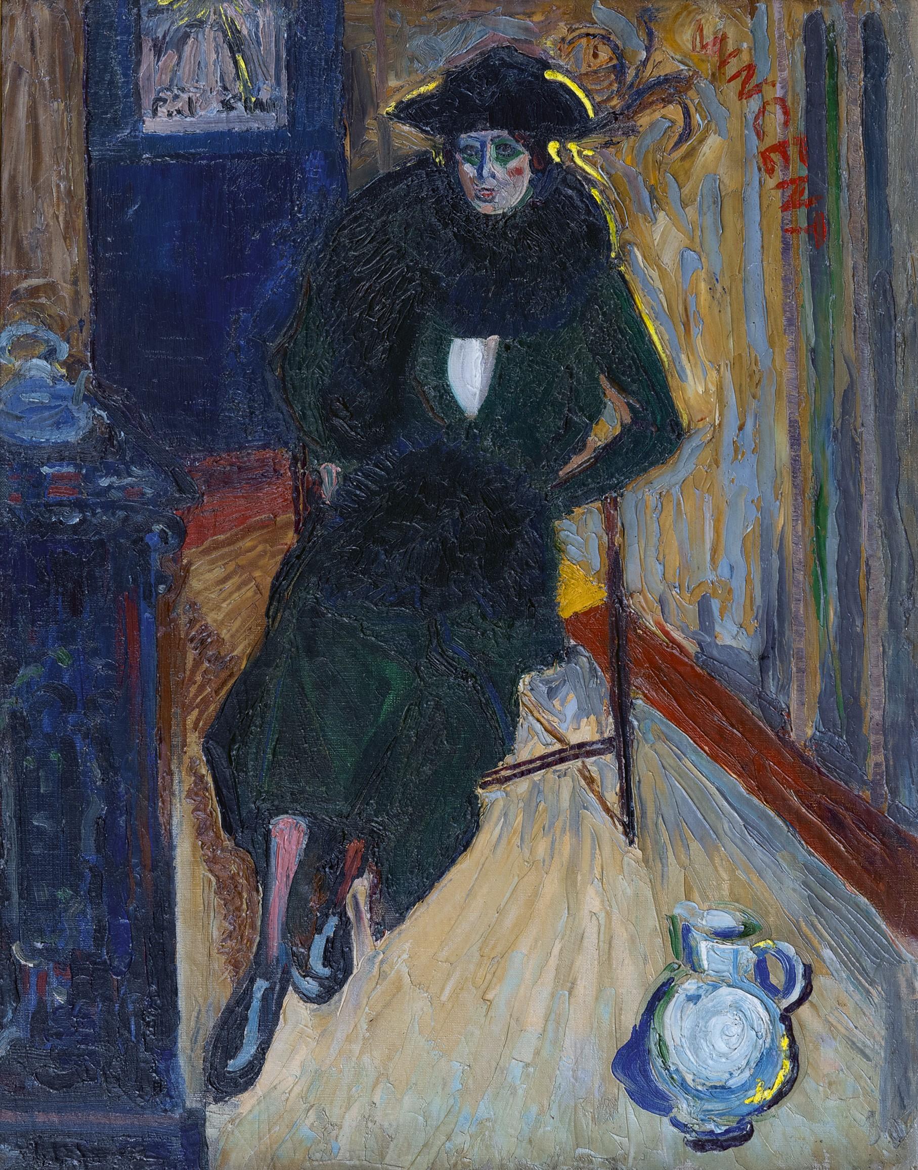 George Martens - Vrouw in stoel