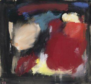 Eugène Brands | Compositie kleur in zwart