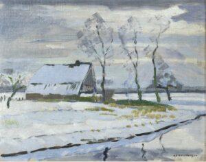 Dirk Smorenberg | Snowy landscape