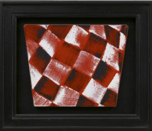 JCJ Vanderheyden | Checkerboard rood-zwart-wit