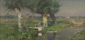 Cornelis Vreedenburgh | Zonnig landschap