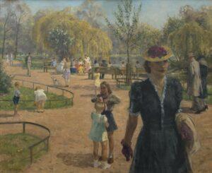 Louis Schutte | Zonnige dag in het Vondelpark in Amsterdam